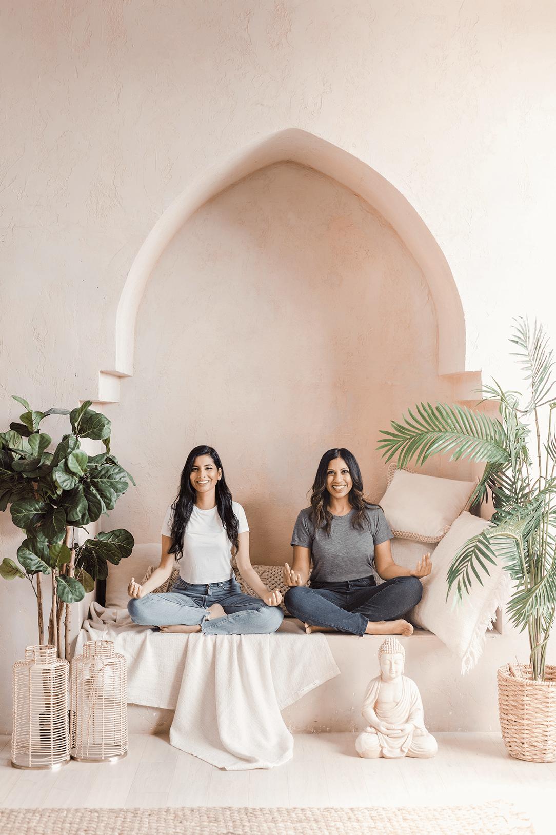 Mahara Mindfulness Co-founders